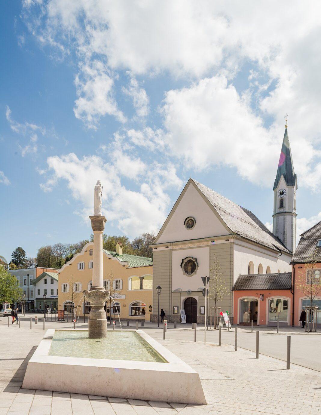 Das Westend in der schönen Kleinstadt Bad Aibling